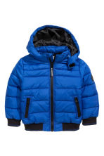 Padded Jacket - Bright blue - Kids | H&M CA 2